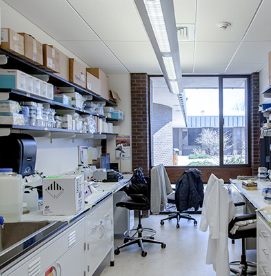 Lab Space Work Area
